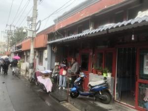中国の街並み(調査対象地区)